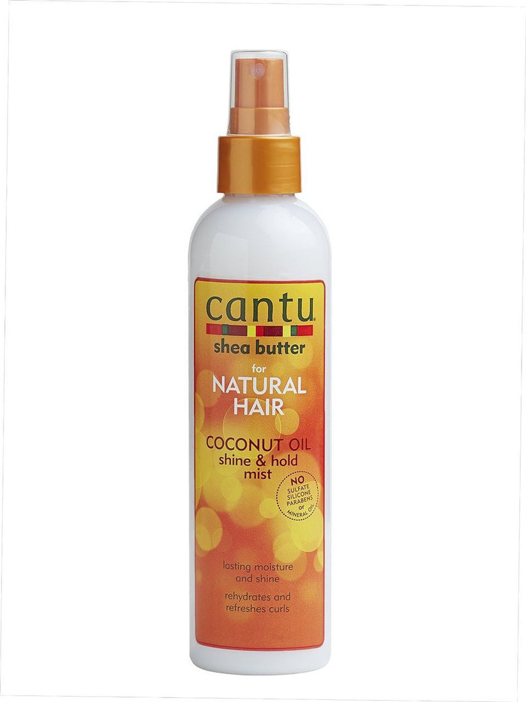 CantuNatural Hair Coconut Oil Shine & Hold Mist 8oz