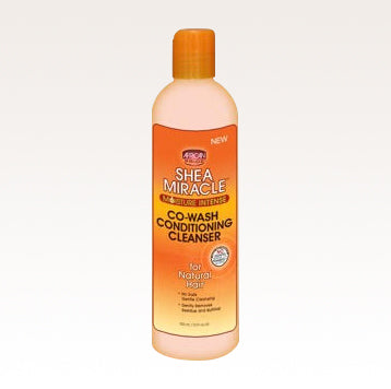 African Pride Shea Miracle CO-WASH CLEANSING CONDITIONER 12oz