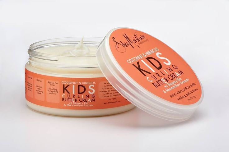 SheaMoisture Coconut & Hibiscus KIDS Curling Buttercream 6oz
