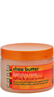 Cantu Natural Hair Define and Shine Custard 12oz