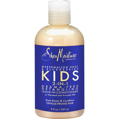 SheaMoisture Marshmallow Root & Blueberries Kids 2-in-1 Detangling Leave-in Conditioner