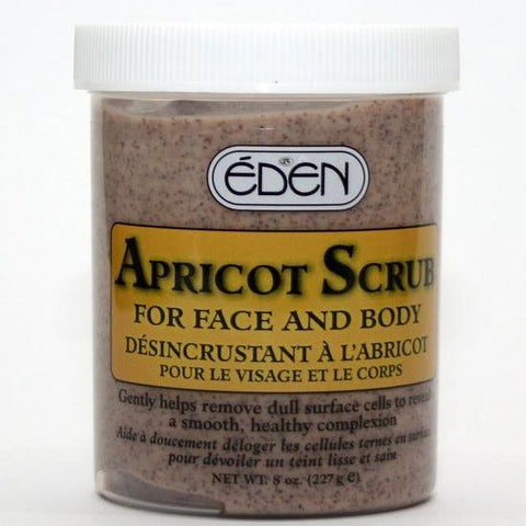 Eden Apricot Scrub for Face and Body 16 oz.