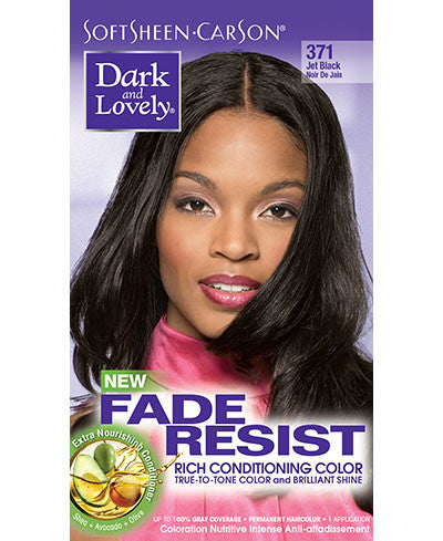 Softsheen Carson Dark and Lovely®Fade Resist FADE RESIST JET BLACK