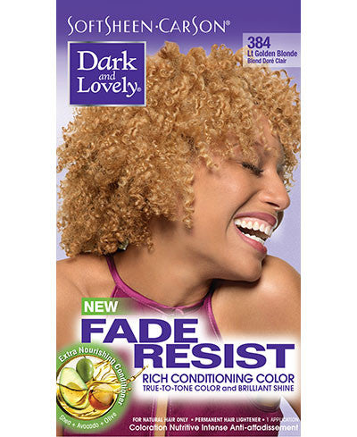 Softsheen Carson Dark and Lovely®Fade Resist FADE RESIST LIGHT GOLDEN BLONDE