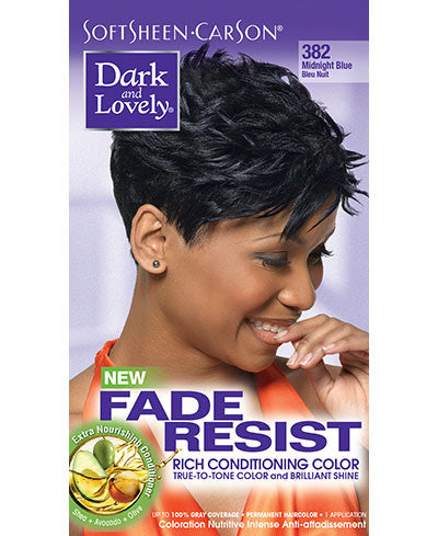 Softsheen Carson Dark and Lovely®Fade Resist FADE RESIST MIDNIGHT BLUE