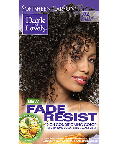 Softsheen Carson Dark and Lovely®Fade Resist FADE RESIST NATURAL BLACK