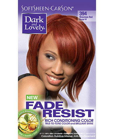 Softsheen Carson Dark and Lovely®Fade Resist FADE RESIST VIVACIOUS RED
