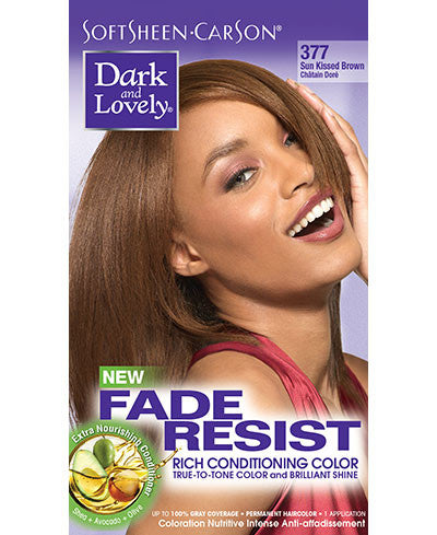 Softsheen Carson Dark and Lovely®Fade Resist FADE RESIST SUNKISSED BROWN