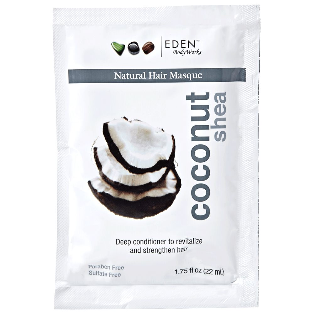 EDEN BodyWorks Coconut Shea Hair Masque Packet 1.75oz