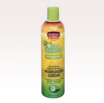 African Pride Olive Miracle  Moisturizer Lotion 12 fl.oz.