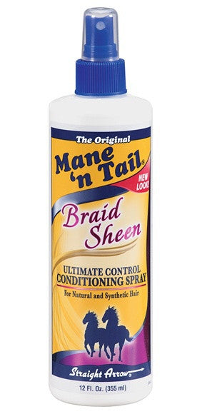 Mane 'n Tail Braid Sheen Spray 12 fl.oz.