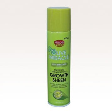 African Pride Olive Miracle Growth Sheen 8oz