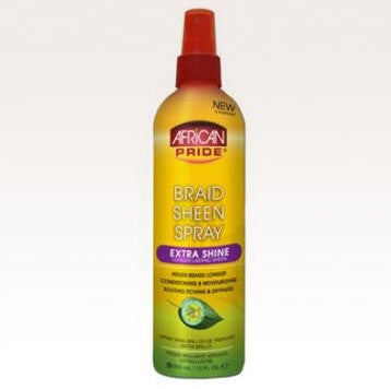 African Pride African Pride Braid Sheen Spray Extra Shine 12 fl.oz.