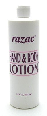 Razac Hand and Body Lotion 16oz