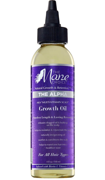 The Mane Choice Multi-Vitamin Scalp nourishing Growth Oil 4oz