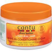 Cantu Natural Hair Leave In Conditioning Cream 12oz