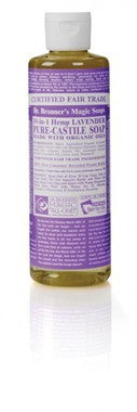 Dr. Bronner's 18-in-1 Hemp Lavender Pure-Castile Liquid Soap 8oz