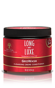 As I Am Long and Luxe GroWash 16oz