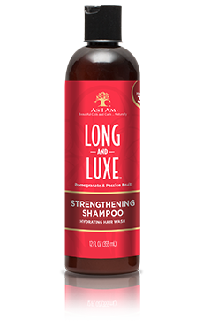 As I Am Long and Luxe Strengthening Shampoo 12oz