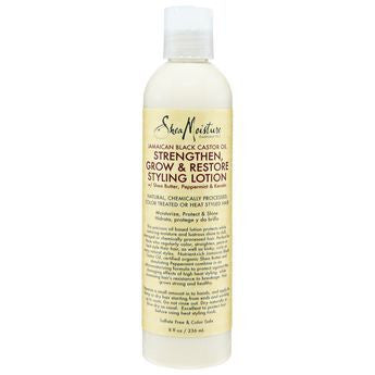 SheaMoisture Jamaican Black Castor Oil Strengthen, Grow and Restore Styling Lotion 8oz