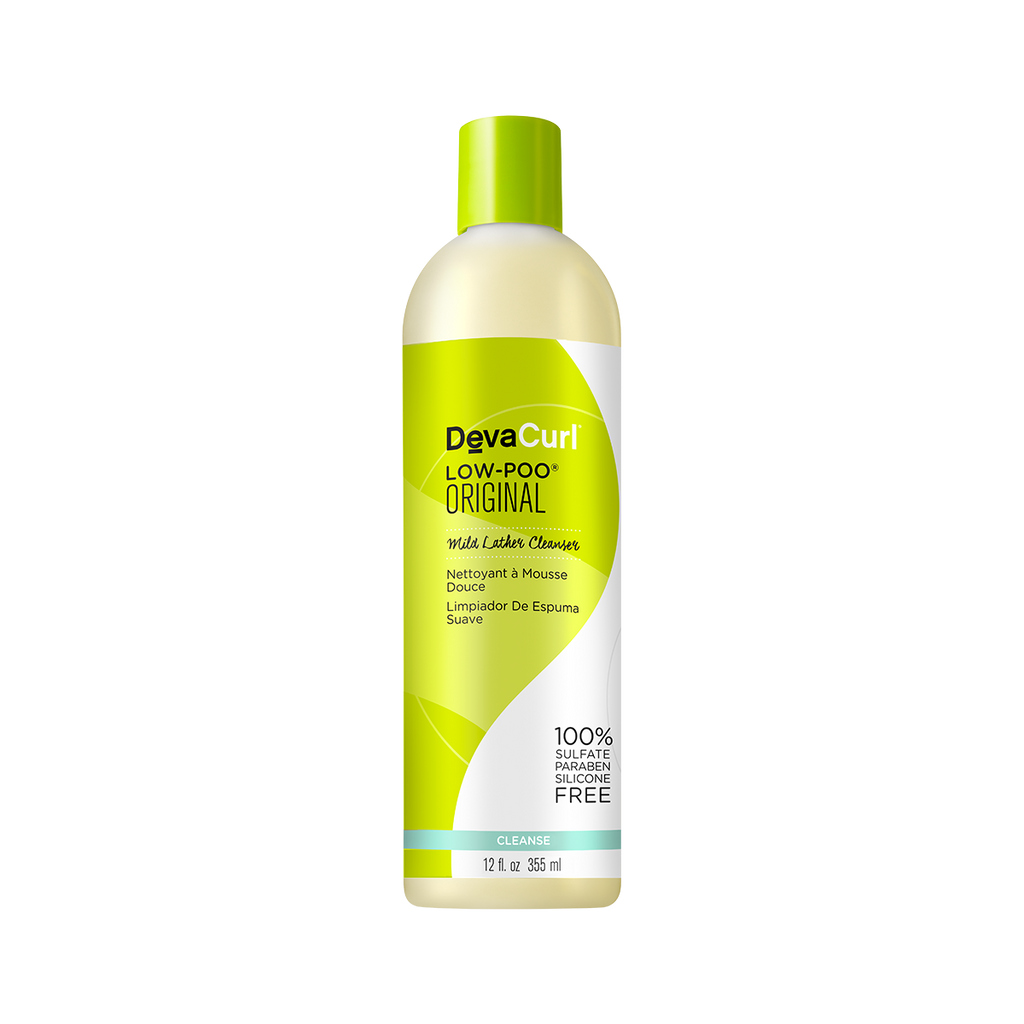 DevaCurl Low-Poo Original Mild Lather Cleanser 12oz