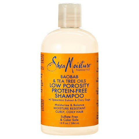 SheaMoisture Low Porosity Protein-Free Shampoo 13oz