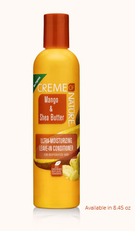 Creme of Nature Certified Natural Mango & Shea Butter Ultra-Moisturizing Leave-In Conditioner