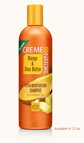 Creme of Nature Certified Natural Mango & Shea Butter Ultra-Moisturizing Shampoo