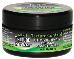 Texture My Way Men's Texture Control Hair Softener & Scalp Conditioner