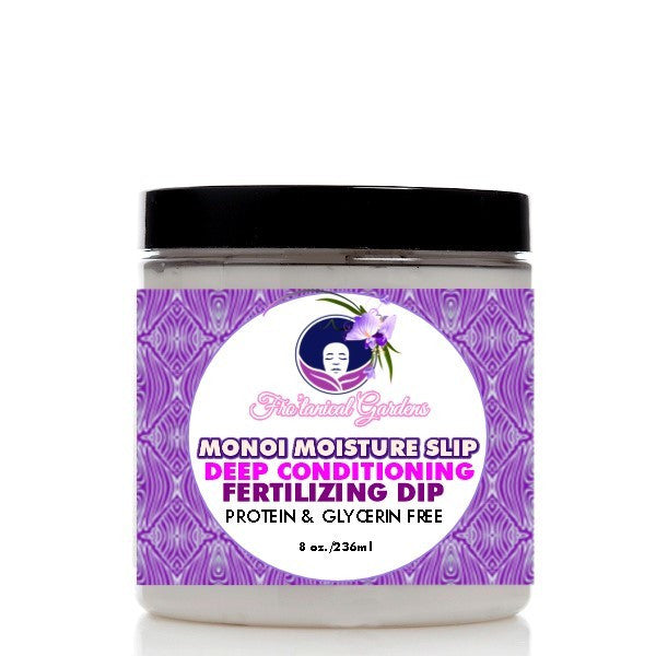 Soultanicals Monoi Moisture Slip- Deep Conditioning, Fertilizing Dip 8oz