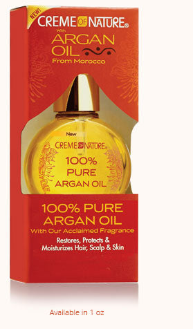 Creme of Nature With Argan Oil 100% Pure Argan Oil