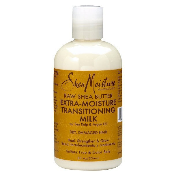 SheaMoisture Raw Shea Butter Extra-Moisture Transitioning Milk  8oz