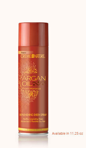 Creme of Nature With Argan Oil Replenishing Sheen Spray 11.25oz