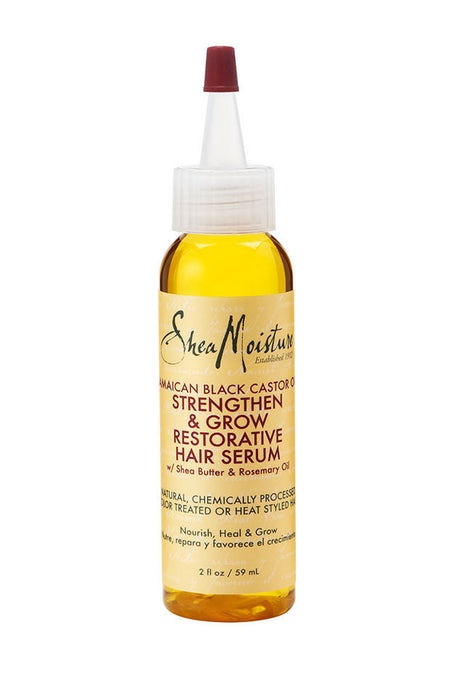 SheaMoisture Jamaican Black Castor Oil Strengthen, Grow & Restore Hair Serum 2oz