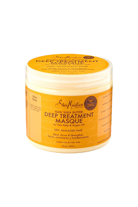 SheaMoisture Raw Shea Butter Deep Treatment Masque Family Size 16oz