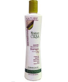 Sensitive by Nature Moisture Curls Sulfate Free Balancing Shampoo 12oz