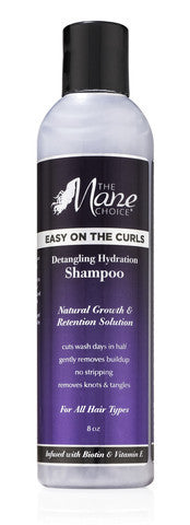 The Mane Choice Easy On The Curls - Detangling Hydration Shampoo 8oz