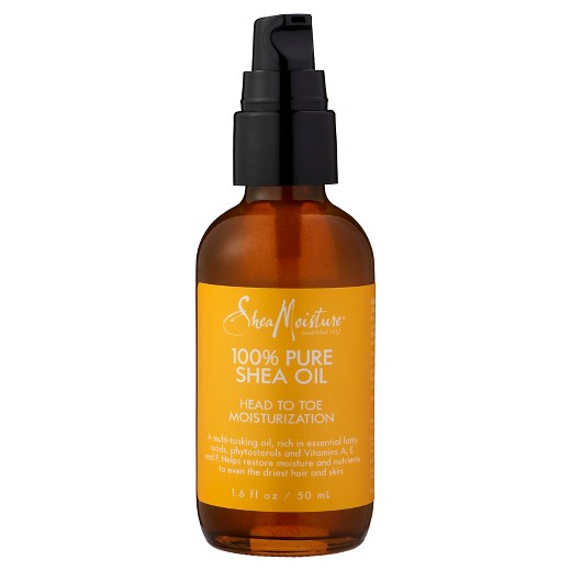 SheaMoisture 100% Pure Shea Oil Head To Toe Moisturization 1.6oz