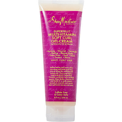 SheaMoisture Superfruit Multi-Vitamin Soft Curl Gel-Cream 8oz