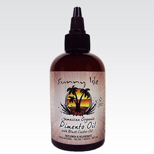 Sunny Isle Pimento Oil with Black Castor Oil 4oz