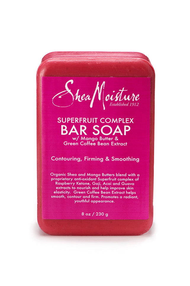 SheaMoisture Superfruit Complex Soap 8oz