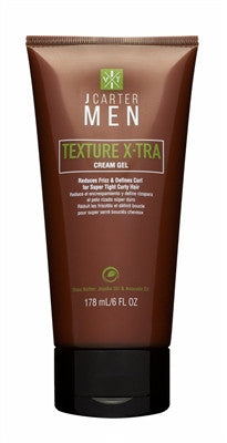 J Carter Men Texture X-tra Cream Gel 6oz