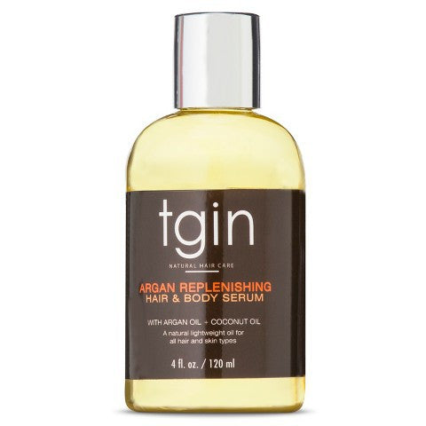 tgin Argan Replenishing and Hair Body Serum - 4 oz