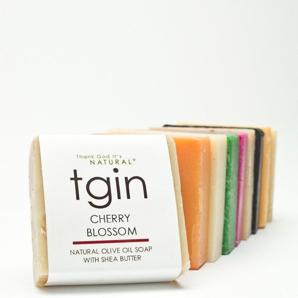 tgin Natural Soap with Shea Butter & Olive Oil 4oz