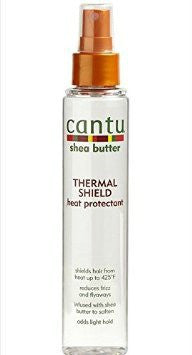 Cantu Shea Butter Thermal Shield Heat Protectant Spray 5oz