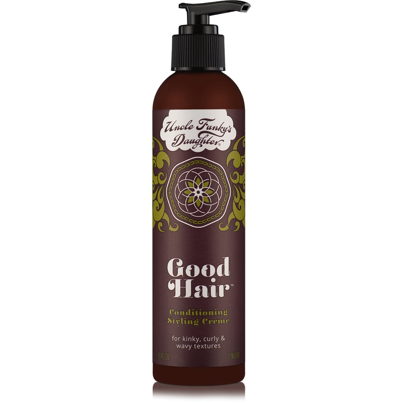Uncle Funky's Daughter Good Hair Leave-in Conditioning Styling Crème 6oz