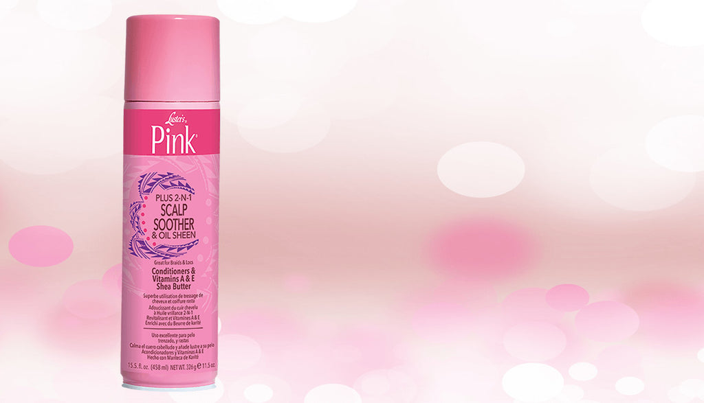 Lusters Pink® Plus 2-N-1 Scalp Soother & Sheen Spray