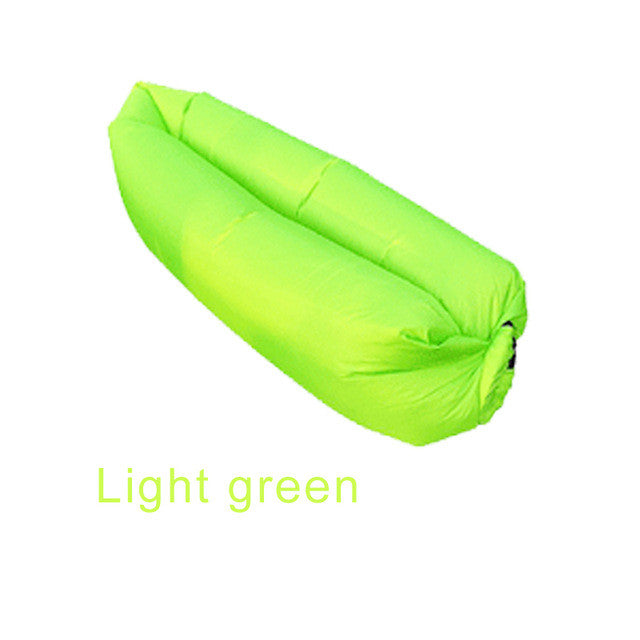 Inflatable Folding Sleeping Lazy Bag Waterproof Portable Air Sofa Pocket Outdoor Beach Camping Lengthened Sleeping Lazy Bed