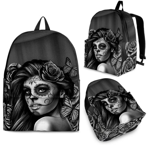 Backpack - Black Calavera