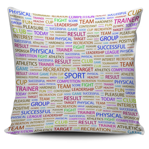 Sport Pillow Cover